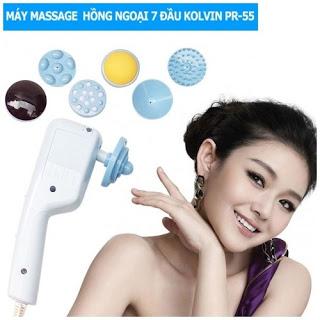Máy massage mặtđèn hồng ngoại 7 đầu Kolvin PR-55 giá rẻ nhất