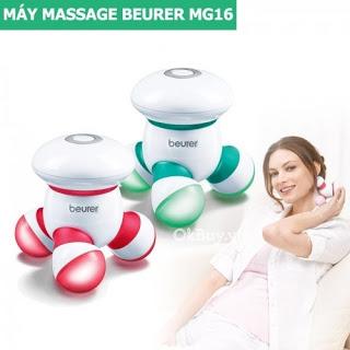 Máy massage cầm tay minidùng pin Beurer MG16 giá rẻ nhất 2019