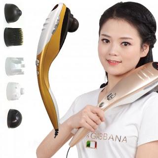 Máy massage cầm taycao cấp 5 đầu Puli PL-610A – Cơ chính hãng giá rẻ